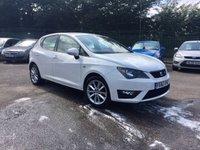 2012 SEAT IBIZA 1.2 TSI FR 5d    LOW TAX  £5500.00