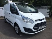 USED 2016 16 FORD TRANSIT CUSTOM  290 125 BHP TREND L1 H1 **70 VANS IN STOCK**