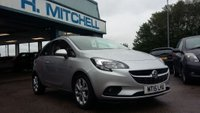USED 2015 15 VAUXHALL CORSA 1.2 EXCITE 3d 69 BHP Family Run For 40 Years