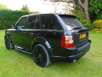 USED 2007 07 LAND ROVER RANGE ROVER SPORT 3.6 TDV8 HSE 5DR AUTO KAHN AMAIZING SPEC WITH KHAN BODY KIT