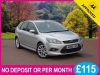 USED 2010 60 FORD FOCUS 1.6 ZETEC S S/S 5dr PRICE CHECKED DAILY  WHY PAY MORE ??