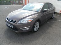 USED 2013 63 FORD MONDEO 1.6 ZETEC BUSINESS EDITION TDCI S/S 5d 114 BHP