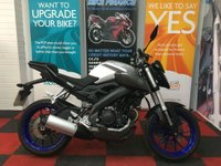 USED 2015 15 YAMAHA MT-125 124cc NATIONWIDE DELIVERY AVAILABLE