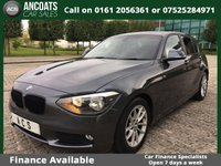 2013 BMW 1 SERIES 1.6 116D EFFICIENTDYNAMICS 5d 114 BHP £9495.00