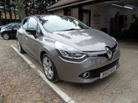 USED 2013 13 RENAULT CLIO 0.9 DYNAMIQUE MEDIANAV ENERGY TCE S/S 5d 90 BHP COLOUR SAT-NAV, £20 A YEAR ROAD TAX, CRUISE CONTROL, USB AND AUX CONNECTION, BLUETOOTH PHONE CONNECTION, 1 OWNER FROM NEW