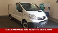 USED 2012 62 VAUXHALL VIVARO 2.0CDTi ecoFLEX 115bhp 2700 EU5 6 Speed FSH 1 Owner 58k, Internal Racking *Drive Away Today* **Drive Away Today** Over The Phone Low Rate Finance Available, Just Call us on 01709 866668