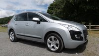 USED 2010 60 PEUGEOT 3008 2.0 HDI SPORT 5d 150 BHP 5 X SERVICE STAMPS,ALLOYS, AIR-CON,CRUISE CONTROL,REAR PARKING SENSORS,AA MECHANICAL INSPECTION REPORT,NATIONWIDE DELIVERY SERVICE