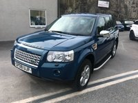2008 LAND ROVER FREELANDER 2.2 TD4 GS 5d 159 BHP £5495.00