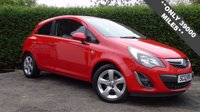 USED 2012 12 VAUXHALL CORSA 1.2 SXI 3d 83 BHP ONLY 39000 MILES, FSH,  IDEAL FIRST CAR LOW TAX AND INSURANCE EXCELLENT FIRST CAR, CHEAP TAX AND INSURANCE, VERY ECONOMICAL