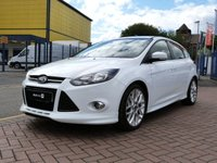 "USED 2012 62 FORD FOCUS 1.0 ZETEC S S/S 5d 124 BHP FULL BODY KIT ~ 18""ALLOYS ~ DAB ~ FORD SYNC BLUETOOTH ~ £30 ROAD TAX"