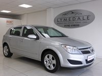 USED 2008 08 VAUXHALL ASTRA 1.4 CLUB 16V TWINPORT 5d 90 BHP In Great Overall Condition & 12 Months MOT