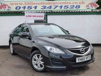 USED 2010 60 MAZDA 6 2.0 TS 5d 155 BHP ONE PRIVATE OWNER, FULL SERVICE HISTORY, LOW MILEAGE