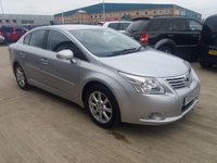 USED 2009 09 TOYOTA AVENSIS 2.0 TR D-4D 4d 125 BHP