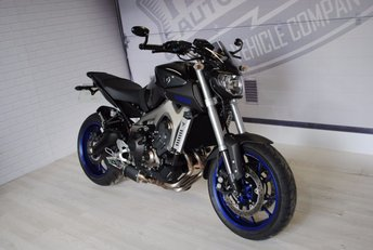View our YAMAHA MT-09