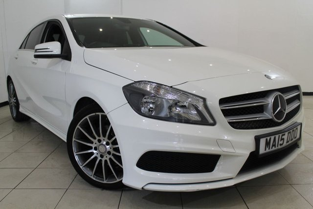 View our 2015 15 MERCEDES-BENZ A CLASS 1.5 A180 CDI BLUEEFFICIENCY AMG SPORT 5DR 109 BHP