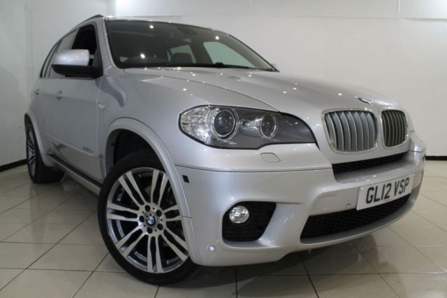 View our 2012 12 BMW X5 3.0 XDRIVE40D M SPORT 5DR AUTOMATIC 302 BHP
