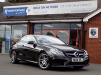 USED 2014 14 MERCEDES-BENZ E CLASS E250 2.1 CDi AMG SPORT 2dr AUTO 204 BHP *ONLY 9.9% APR with FREE Servicing*