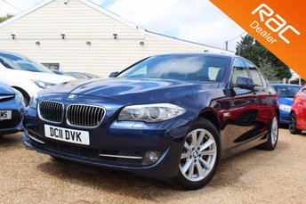2011 BMW 5 SERIES 3.0 525D SE 4d AUTO 202 BHP £13000.00