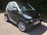 USED 2012 62 SMART FORTWO 1.0 PASSION MHD 2d AUTO 71 BHP *Zero Road Tax* Insurance Grouo 2* Sat Nav and Bluetooth*