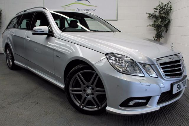 2010 10 MERCEDES-BENZ E CLASS 3.0 E350 CDI BLUEEFFICIENCY SPORT 5d AUTO 231 BHP