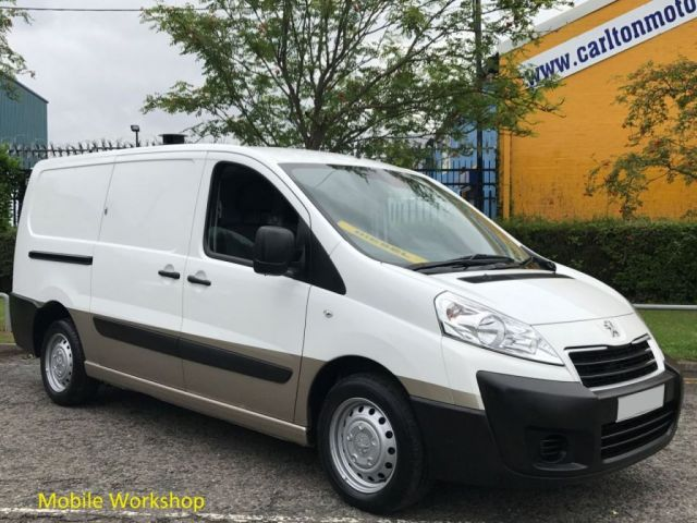 2013 13 PEUGEOT EXPERT 1.6 HDI 1200 L2 H1 [ MOBILE WORKSHOP ] T/SLD VAN Delivery T,B,A