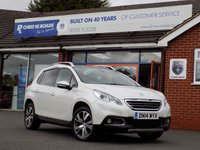 USED 2014 14 PEUGEOT 2008 1.6 E-HDi FELINE MISTRAL 5dr * Sat Nav & Leather * *ONLY 9.9% APR with FREE Servicing*