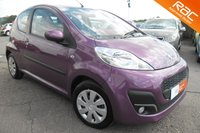 USED 2014 14 PEUGEOT 107 1.0 ACTIVE 3d 68 BHP EXTREMELY LOW MILEAGE