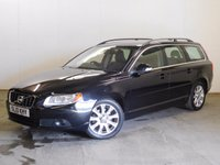 USED 2010 10 VOLVO V70 2.0 D SE 5d 136 BHP LEATHER ALLOYS FSH STUNNING BLACK MET WITH PART BLACK LEATHER TRIM. ELECTRIC MEMORY SEATS. CRUISE CONTROL. 17 INCH ALLOYS. COLOUR CODED TRIMS. CLIMATE CONTROL. R/CD PLAYER. 6 SPEED MANUAL. MFSW. TOWBAR. MOT 03/18. FULL SERVICE HISTORY. PRISTINE CONDITION. FCA FINANCE APPROVED DEALER. TEL 01937 849492