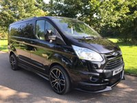 2014 FORD TRANSIT CUSTOM 2.2 290 LIMITED LR 125 BHP RS STYLING PACK AIR CON CRUISE £16250.00
