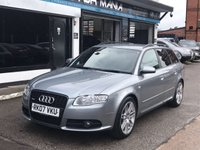 USED 2007 07 AUDI A4 2.0 TDI QUATTRO S LINE SPECIAL EDITION 5d 170 BHP