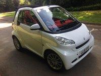USED 2012 M SMART FORTWO CABRIO 1.0 PASSION MHD 2d AUTO 71 BHP