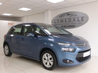 USED 2013 63 CITROEN C4 PICASSO 1.6 E-HDI AIRDREAM VTR PLUS ETG6 5d AUTO 113 BHP Fabulous Overall Condition Full Dealer History & 12 Months MOT