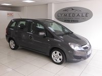 USED 2013 13 VAUXHALL ZAFIRA 1.6 EXCLUSIV 5d 113 BHP Excellent One Owner 7 Seat MPV With Full Dealer History