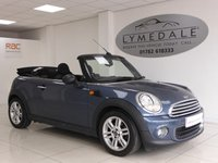USED 2010 60 MINI CONVERTIBLE 1.6 ONE 2d 98 BHP Very Cool High Spec Cabriolet With 12 Months MOT