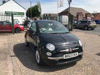 2013 FIAT 500 1.2 LOUNGE 3d 69 BHP £5699.00