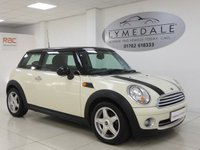 USED 2007 07 MINI HATCH COOPER 1.6 COOPER 3d 118 BHP Great Overall Condition With Half Leather Upholstery
