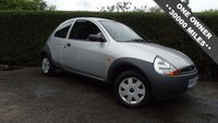 USED 2007 57 FORD KA 1.3 KA STUDIO CLOTH 3d 69 BHP #ONLY 30000 MILES# FULL FORD SERVICE HISTORY, ONE OWNER 6 Month PREMIUM Cover Warrantry - 12 Month MOT (With No Advisories) - Low Rate Finance Packages Available