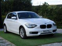USED 2012 12 BMW 1 SERIES 2.0 118D SE 5d 141 BHP