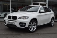 USED 2012 61 BMW X6 3.0 XDRIVE30D 4d AUTO 241 BHP