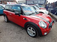 USED 2010 10 MINI CLUBMAN 1.6 COOPER 5d 118 BHP FULL SERVICE HISTORY, AIRCON, ALLOYS, 1/2 LEATHER