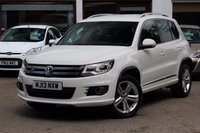 2013 VOLKSWAGEN TIGUAN R LINE 2.0 TDI BLUEMOTION TECHNOLOGY 4MOTION 4WD 4x4 £15990.00