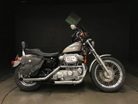 1996 HARLEY-DAVIDSON XLH 883 HUGGER 96. 6013. 2 OWNERS. STAGE 1. FORWARD CONTROLS. CLEAN BIKE £3950.00