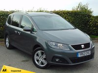 USED 2012 12 SEAT ALHAMBRA 2.0 CR TDI ECOMOTIVE SE 5d 7 SEATER WITH 128 POINT AA INSPECTION