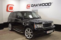 USED 2005 55 LAND ROVER RANGE ROVER SPORT 2.7 TDV6 S 5d AUTO 188 BHP *FULL HISTORY* 22 INCH OVERFINCH STYLE ALLOYS