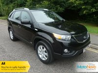 USED 2012 12 KIA SORENTO 2.2 CRDI KX-1 5d 195 BHP FANTASTIC VALUE SEVEN SEAT KIA SORENTO WITH ONE PREVIOUS LADY OWNER, AIR CONDITIONING, CRUISE CONTROL, ALLOY WHEELS AND SERVICE HISTORY