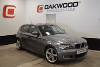 USED 2011 11 BMW 1 SERIES 2.0 118D M SPORT 5d 141 BHP *LOW MILES* BIGGER M SPORT WHEELS FITTED