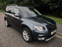 USED 2014 14 SKODA YETI 1.2 SE TSI DSG 5d AUTO 103 BHP VERY NICE ONE LADY OWNED AUTOMATIC YETI WITH THE DESIRABLE PETROL ENGINE, CLIMATE CONTROL, CRUISE CONTROL, ALLOY WHEELS AND SKODA SERVICE HISTORY
