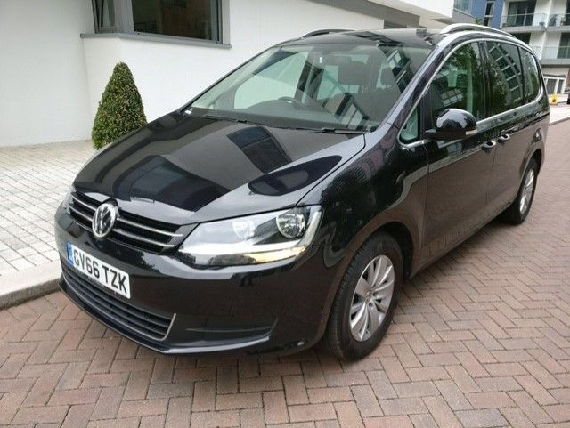 2017 66 VOLKSWAGEN SHARAN 2.0 SE NAV TDI BLUEMOTION TECHNOLOGY DSG 5d AUTO 148 BHP
