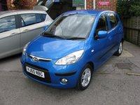 2010 HYUNDAI I10 1.2 COMFORT 5d AUTO 77 BHP £5495.00