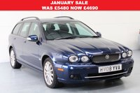 2008 JAGUAR X-TYPE 2.0 S 5dr Estate 129 BHP £4690.00